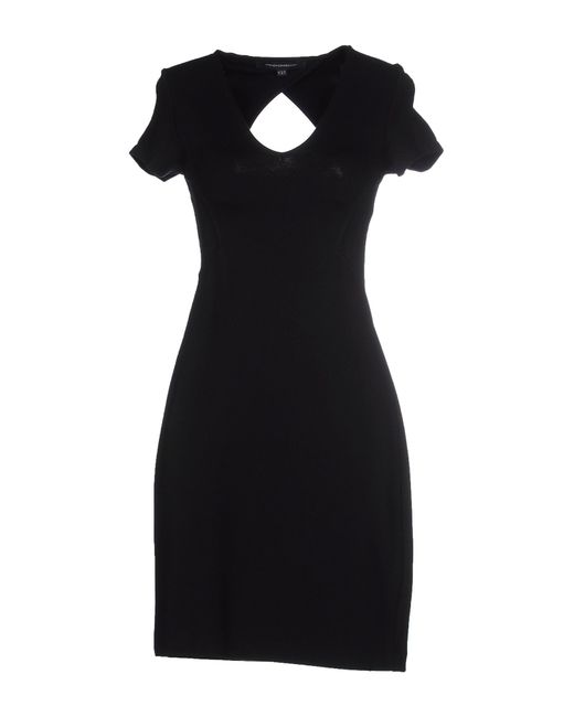 French Connection | Black Georgia Jersey Dress | Lyst