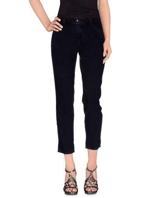 Joe's Jeans | Black Denim Trousers | Lyst