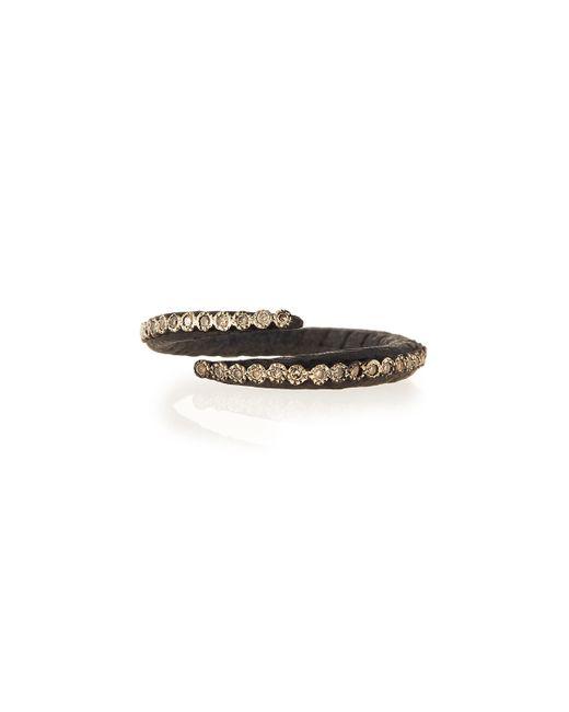 Armenta   Black Old World Midnight Crisscross Diamond Ring   Lyst
