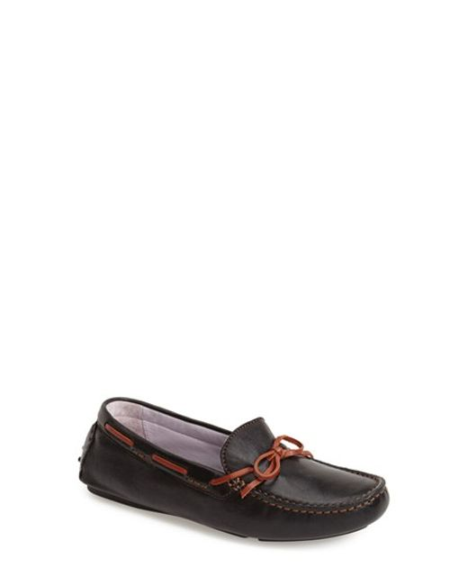 Johnston & Murphy | White 'maggie' Moccasin | Lyst