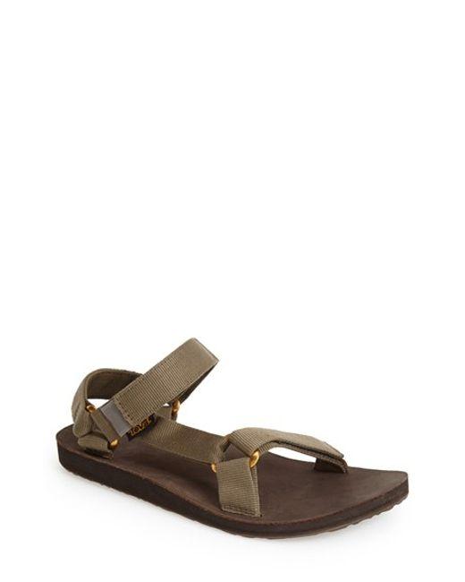 Teva | Gray 'original Universal Lux' Sandal for Men | Lyst