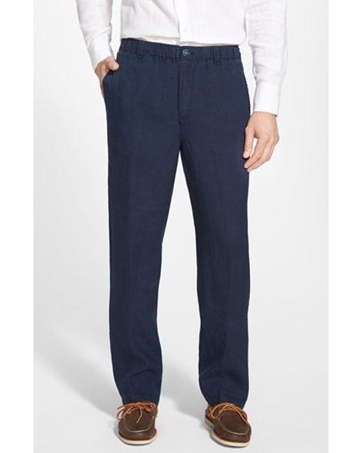 Tommy Bahama New Linen On The Beach Easy Fit Pants In