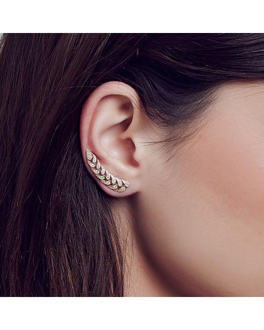 Carbon & Hyde | Metallic Amaranth Ear Cuff | Lyst