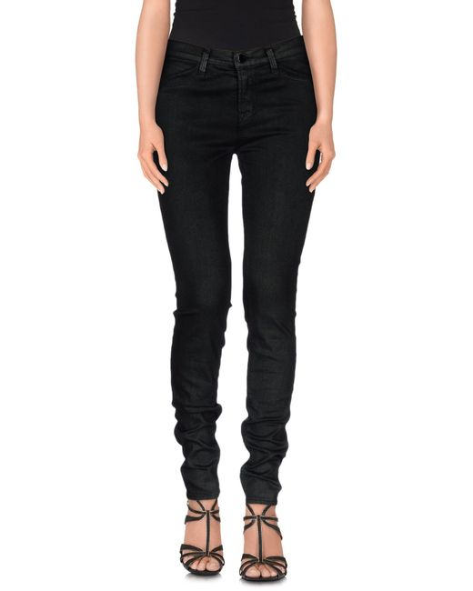 J Brand | Green Denim Trousers | Lyst