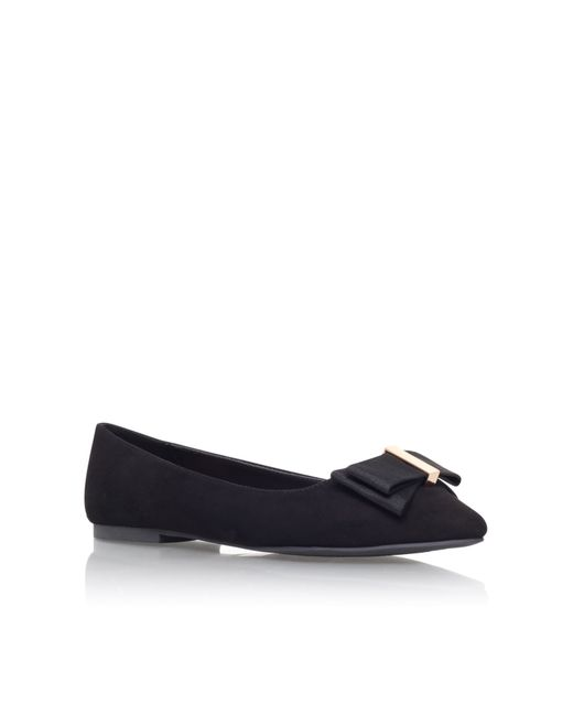 Miss Kg | Black Nessy Flat Slip On Shoes | Lyst