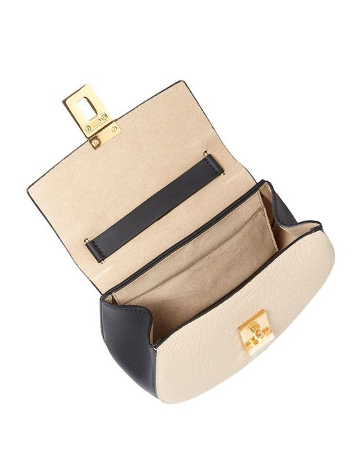 chloe marcie replica handbags - Chlo�� Marcie Medium Crossbody Saddle Bag in Beige (WHITE) | Lyst