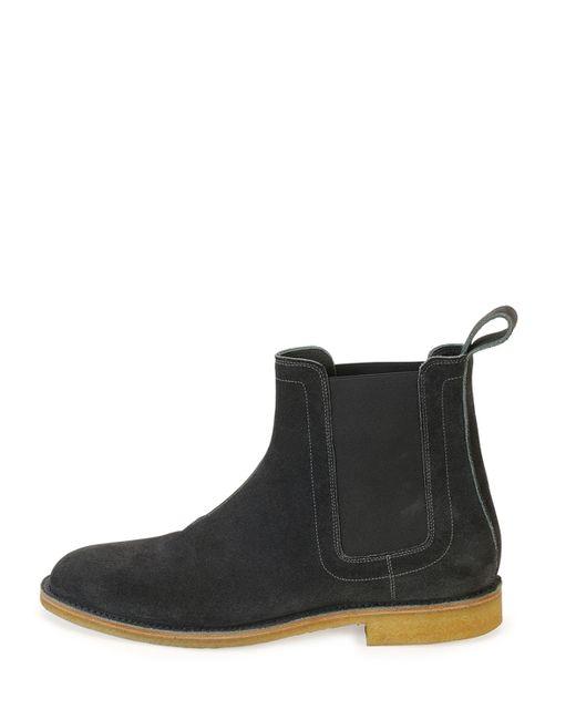 Brilliant Bottega Veneta Suede Chelsea Boots In Natural For Men  Lyst