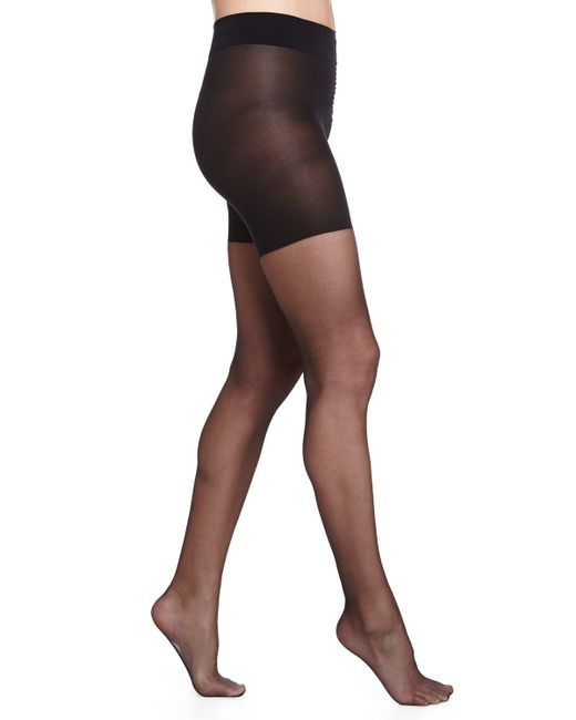 Wolford | Natural Luxe 9 Control Top Tights | Lyst