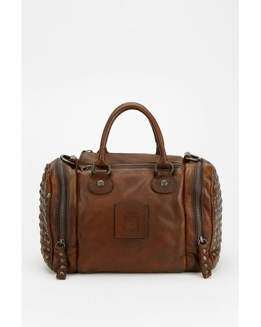 Frye | Brown Melissa Washed Leather Satchel | Lyst