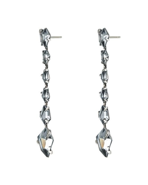 Alexis Bittar | Metallic Silver Gaze Marquis Drop Earrings You Might Also Like | Lyst