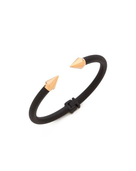 Vita Fede | Black Mini Titan Two Tone Bracelet | Lyst