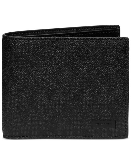 Michael Kors | Black Jet Set Shadow Billfold for Men | Lyst