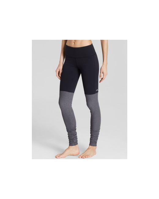 Alo Yoga   Black Goddess Ribbed Leggings - Essential Pick   Lyst