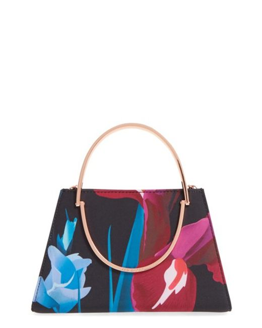 Ted Baker U0026#39;stenciled Stemu0026#39; Floral Print Crossbody Bag In Floral (BLACK) - Save 41%   Lyst