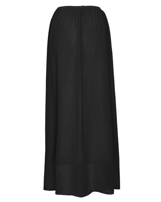 James Lakeland | Natural Long Georgette Skirt | Lyst