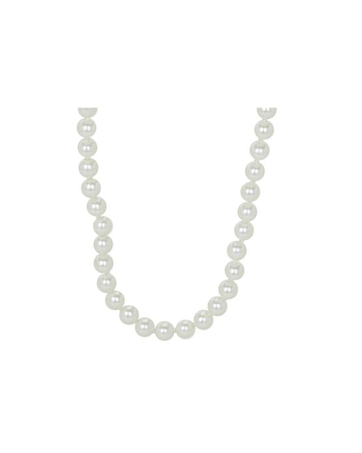 "Lauren by Ralph Lauren | White 60"" 8mm Endless Pearl Necklace 