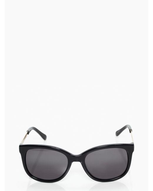 Kate Spade | Black Gayla Sunglasses | Lyst