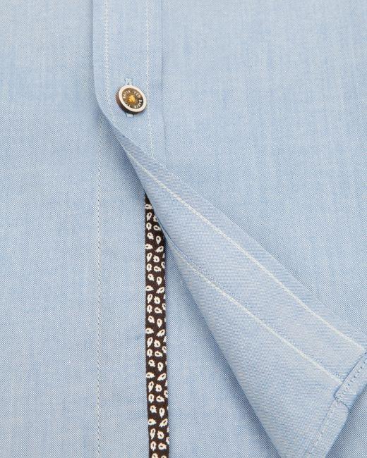 Ted Baker   Blue Elsu Spot Shirt for Men   Lyst