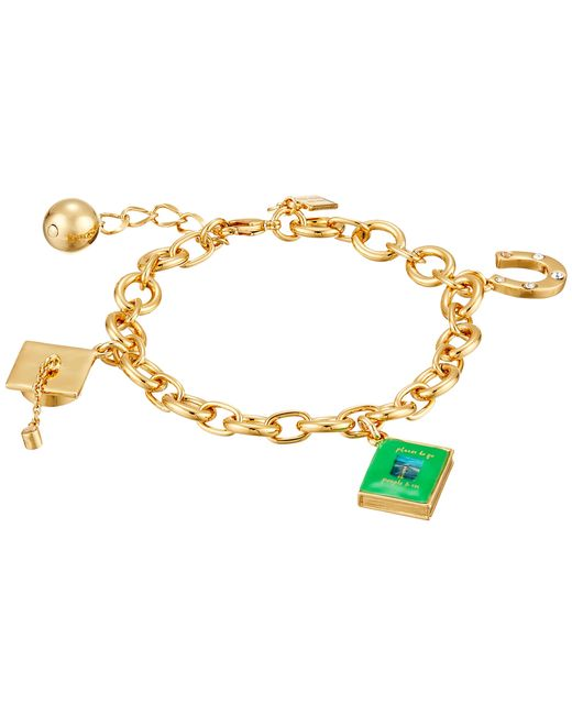 Kate Spade | Metallic How Charming Graduation Charm Bracelet | Lyst