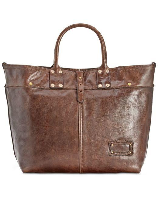 Patricia Nash | Brown Nash Men's Milano Leather Tote | Lyst