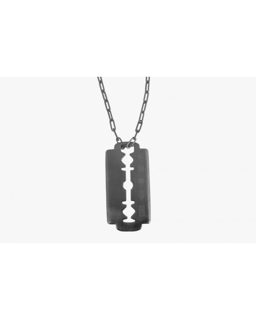 Tateossian | Metallic Gunmetal Iconic Blade Pendant for Men | Lyst