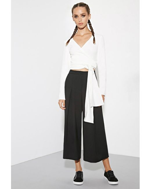 Forever 21 | White The Fifth Label Just For Now Crop Top | Lyst
