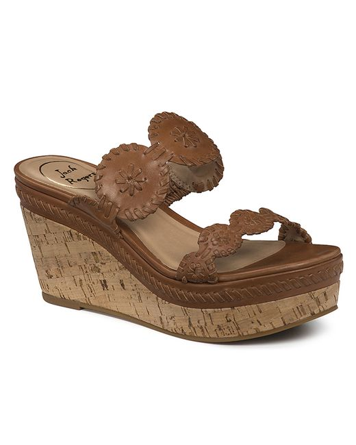 Jack Rogers | Brown Leigh Wedge | Lyst
