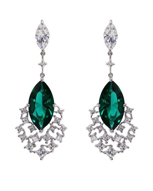 Carat* | Green Peacock Cocktails Drop Earrings | Lyst