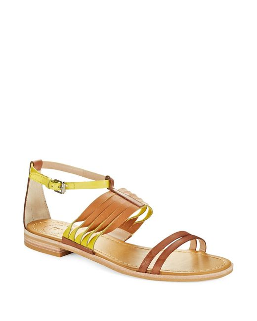 French Connection | Brown Hazel Sandals | Lyst