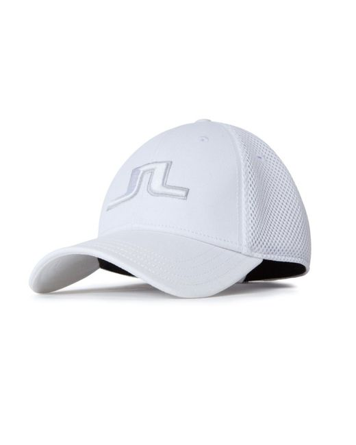 J.Lindeberg | White Bon Flexi Cap for Men | Lyst