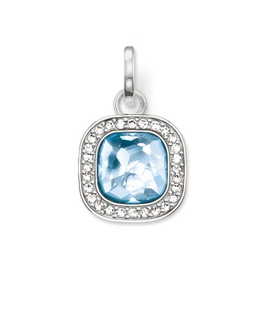 Thomas Sabo | Secret Of Cosmo Blue Spinel Pendant | Lyst