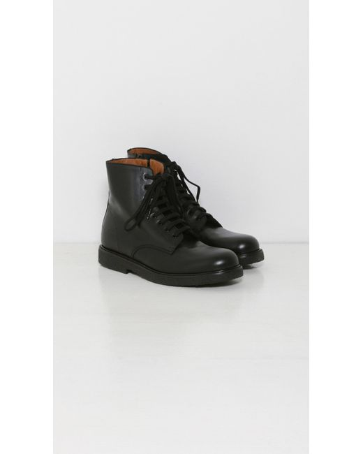 Common Projects Combat Boots In Black Lyst