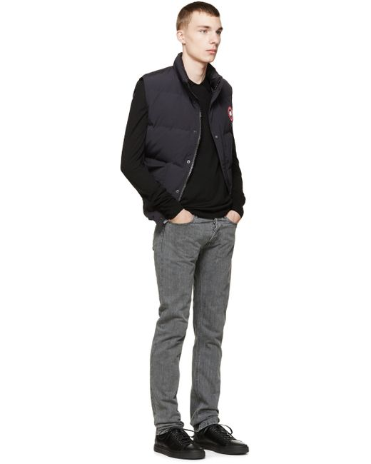 Canada Goose coats outlet official - Canada goose Navy Down Freestyle Vest in Blue for Men (navy) | Lyst