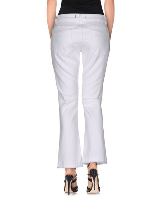 Jucca | White Denim Trousers | Lyst