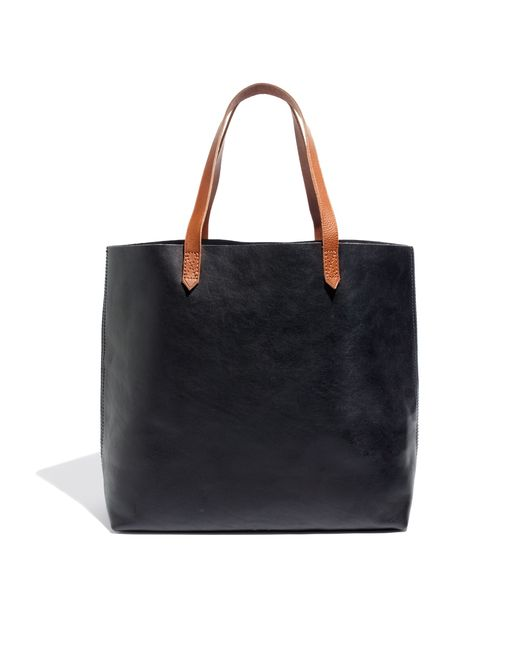 Madewell | Black The Transport Tote | Lyst