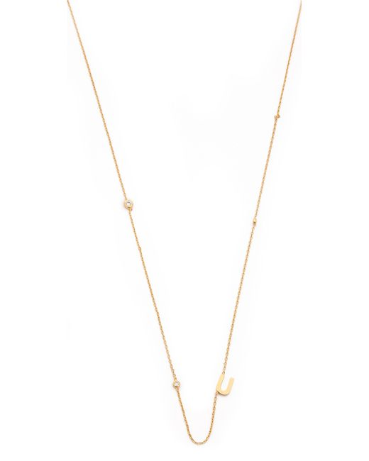 Tai   Metallic Alphabet Necklace   Lyst
