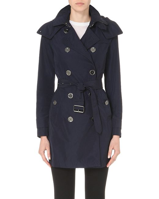 Burberry | Blue The Balmoral Technical Taffeta Trench Coat | Lyst