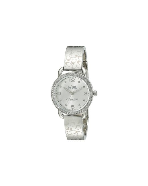 COACH | Metallic Delancey 28mm Bangle Watch | Lyst