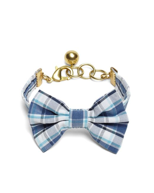 Brooks Brothers | Blue Kiel James Patrick Seersucker Plaid Bow Tie Bracelet | Lyst