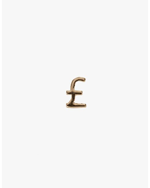 Winden Jewelry | Metallic Pound Stud Earring | Lyst