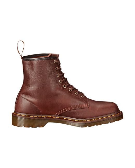 dr martens 1460 8 eye boot soft leather in brown for