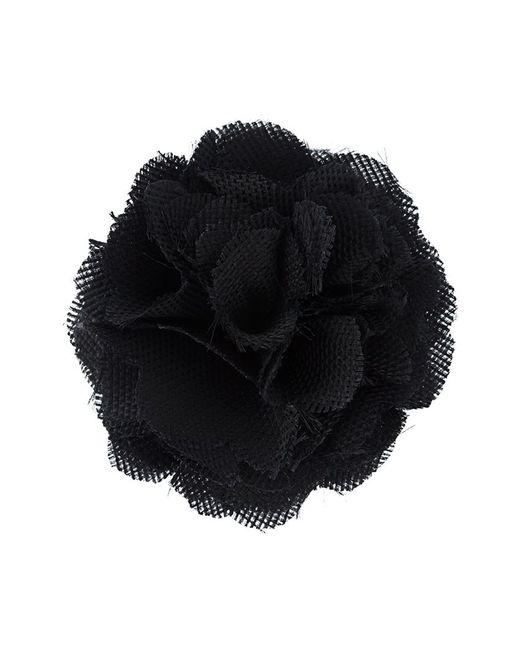 Lanvin   Black Floral Brooch   Lyst