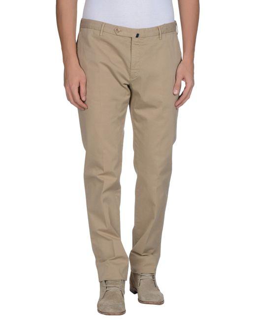 Incotex   Natural Casual Pants for Men   Lyst