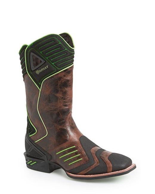 Ariat | Brown 'catalyst Vx' Performance Cowboy Boot for Men | Lyst