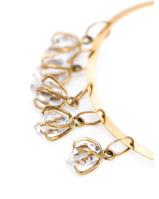 Melissa Joy Manning | Metallic Herkimer Diamond Hoop Earrings | Lyst