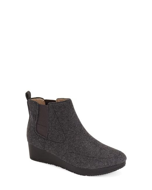 Dr. Scholls | Gray 'original Collection - Meringue' Wedge Bootie (women) | Lyst