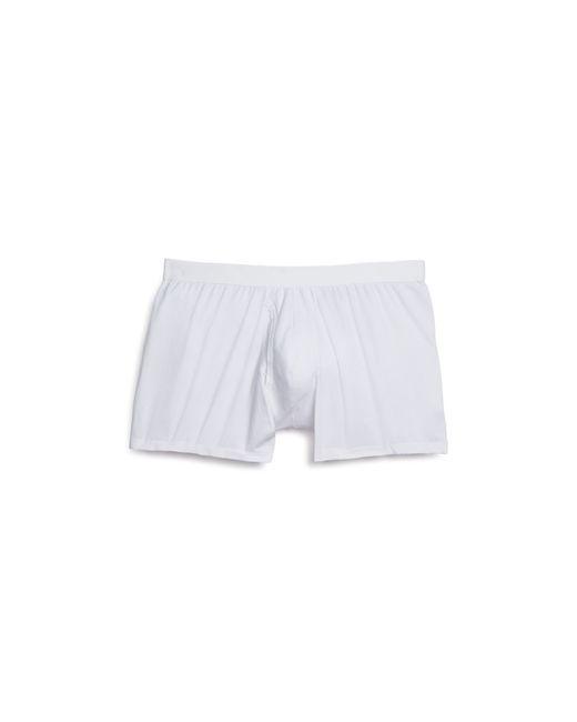 Derek Rose | White Pima Cotton Stretch Boxer Briefs for Men | Lyst