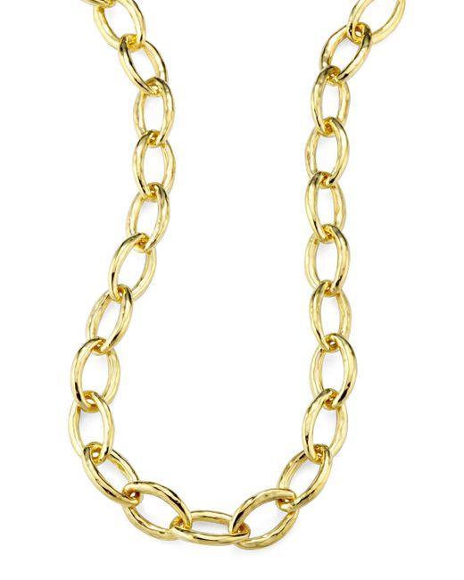 Ippolita | Metallic Glamazon 18k Gold Mini Bastille Necklace | Lyst