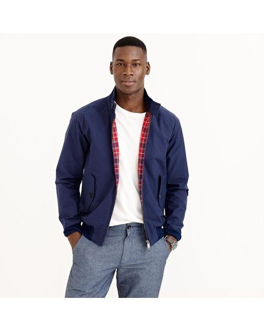 J.Crew | Blue Baracuta G9 Harrington Jacket for Men | Lyst