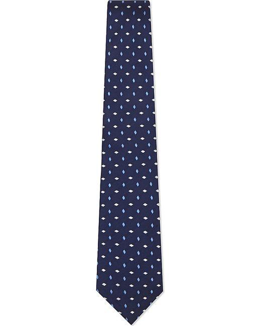 turnbull asser mini patterned silk tie in
